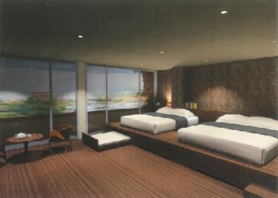 バリアフリールームの写真
